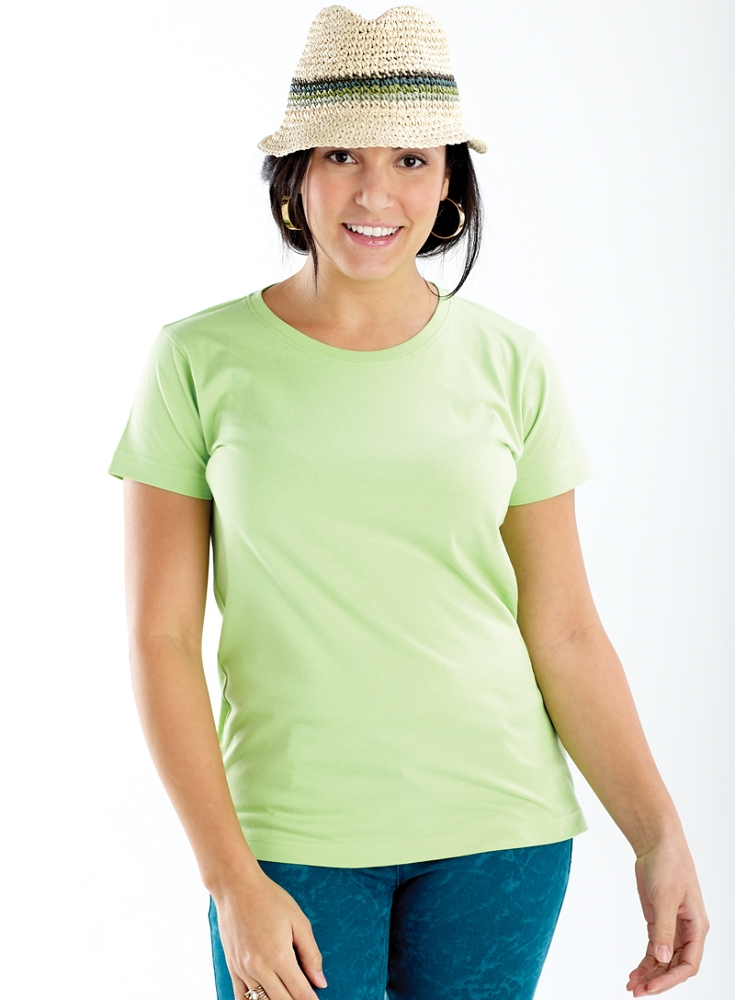 ladies longer length t shirt manufacturer name