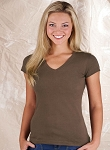 Junior V-Neck Longer Length T