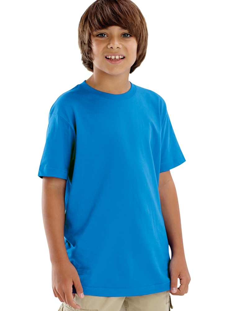 Youth fine jersey t shirt manufacturer name for Kids t shirts in bulk
