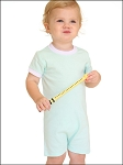 Short Sleeve Infant Romper