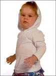 Infants Long Sleeve Pullover Hoodie