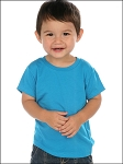 Infants Crew Neck Short Sleeve Tee Jersey CVC