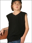 Youth Raw Edge Raglan Sleeveless Tank
