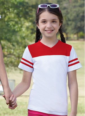 Girls Football T Shirt