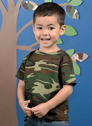 Toddler Camo T Shirt