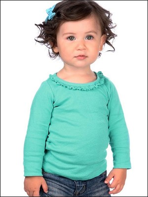 Infants Sunflower Long Sleeve Top