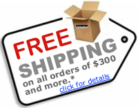 free shipping orders over 300