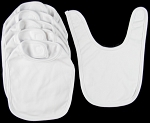Infant Hook and Loop Bib