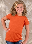 Girls Vintage Longer Length Shirt