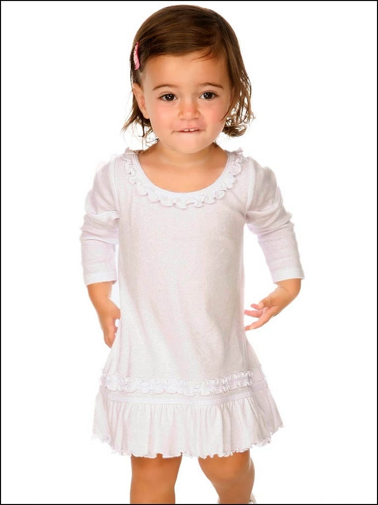 Infants Sunflower Long Sleeve Dress Manufacturer Name
