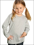 Toddlers Crew Neck Long Sleeve