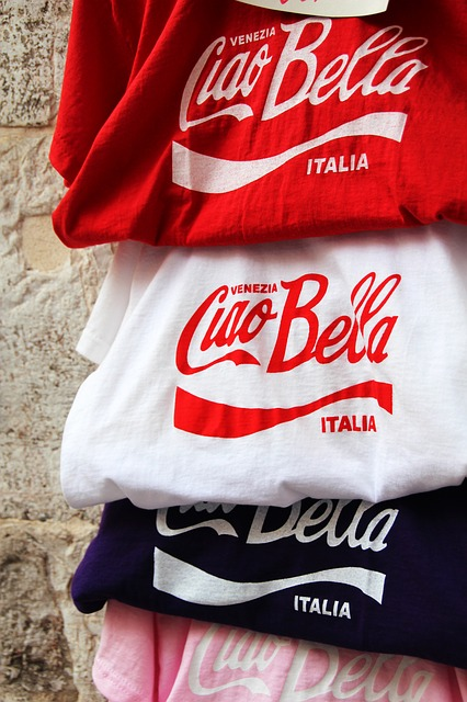 Cool TShirt Ciao Bella