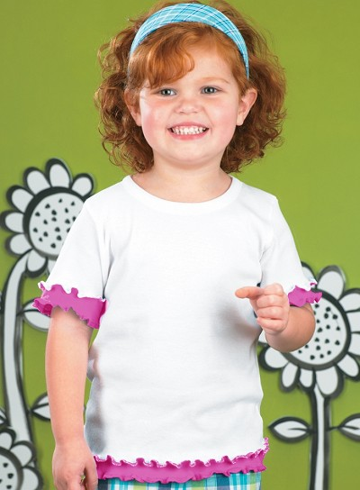 Toddler Double Ruffle Tee