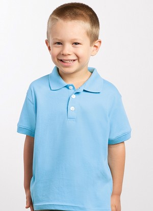 Toddler Jersey Golf Shirt
